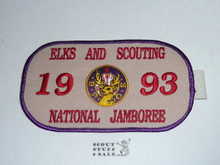 1993 National Jamboree Elks Armband