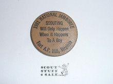 1981 National Jamboree Wooden Nickel
