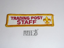 1977 National Jamboree Trading Post Staff Segment patch