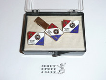 1977 National Jamboree Tie Clip and Cuff Link Set