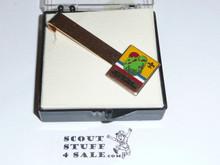1973 National Jamboree Tie Clip, Colorful