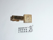 1973 National Jamboree Tie Clip, Gold Color