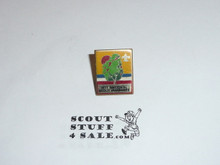 1973 National Jamboree Pin, decal type