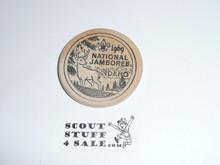 1969 National Jamboree Wooden Nickel / Token from the North Idaho Lumbering Industry