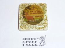 1969 National Jamboree plaster tile with emblem