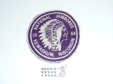 1964 National Jamboree Wisconsin Council Felt Contingent Patch
