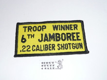 1964 National Jamboree Shotgun Troop Winner Patch