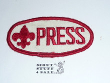 1964 National Jamboree PRESS Patch, lt use
