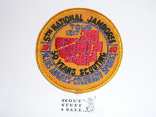 1960 National Jamboree West Los Angeles Contingent Patch