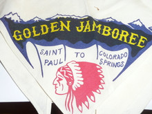 1960 National Jamboree St. Paul Contingent Neckerchief