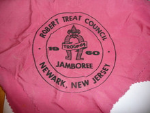 1960 National Jamboree Robert Treat Contingent Neckerchief