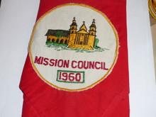 1960 National Jamboree Mission Council Contingent Patch on Neckerchief