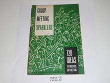 Group Meeting Sparklers, 12-71 Printing