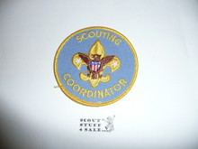 Scouting Coordinator Patch (IR3), 1976-1989, used