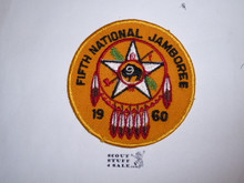 1960 National Jamboree Region 9 Large Patch