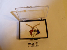 1977 National Jamboree Necklace with Charm