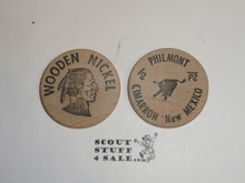 Philmont Scout Ranch, One Wooden Nickel
