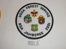 2001 National Jamboree USDA Forest Service Patch