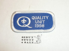 Quality Unit Patch, 1998