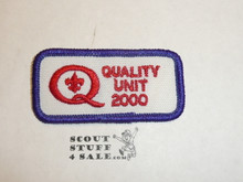 Quality Unit Patch, 2000