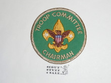 Troop Committee Chairman Patch, 1973-1989, sewn