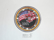 2001 National Jamboree STAFF Patch