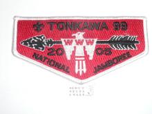 Order of the Arrow Lodge #99 Tonkawa s38 2005 NJ Flap Patch