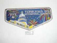 Order of the Arrow Lodge #99 Tonkawa 2013 svr mylar bdr NJ Flap Patch