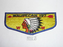 Order of the Arrow Lodge #197 Waupecan s1 Flap Patch