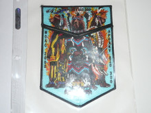 Order of the Arrow Lodge #300 Apoxky Aio 2002 NOAC 2 piece Flap Patch Set