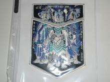 Order of the Arrow Lodge #300 Apoxky Aio 2006 NOAC 2 piece Flap Patch Set