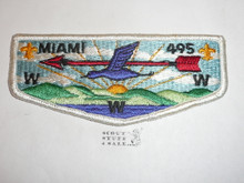 Order of the Arrow Lodge #495 Miami s10 Flap Patch