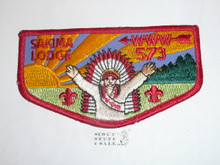 Order of the Arrow Lodge #573 Sakima f4 Flap Patch