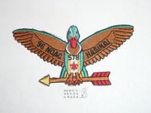 Order of the Arrow Lodge #578 Hasinai x2 1996 NOAC Patch