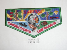 Order of the Arrow Lodge #578 Hasinai s17 Camp Anniversary Flap Patch