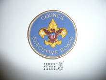 Council Executive Board Patch (CEB1), 1973-?, lite use