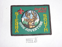 Sierra South Backpacker High Adventure Team (HAT) Award Patch