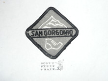 San Gorgonio Training Hike High Adventure Team (HAT) Award Patch