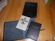 2010 100th Boy Scout Anniversary Library Bound Boy Scout Handbook in slip case with color history book, MINT, Orig $100