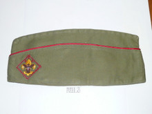 1960's Boy Scout Hat, Small, 6 3/8 - 6 5/8, Sanforized, used