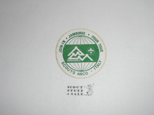 1975 World Jamboree Italian Contingent Sticker