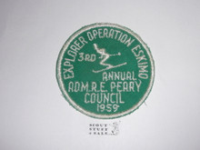 1959 Explorer Scout Operation Eskimo Patch, Admiral Perry Council