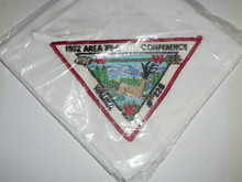 1972 Order of the Arrow Area 12E Conclave Neckerchief