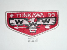 Order of the Arrow Lodge #99 Tonkawa s8 Flap Patch