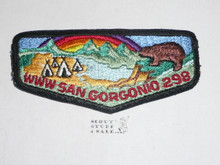 Order of the Arrow Lodge #298 San Gorgonio s5 Flap Patch