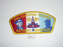 1981 National Jamboree JSP - Philadelphia Council