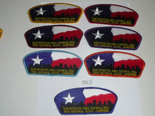 1993 National Jamboree JSP - Sam Houston Area Council, set of 7