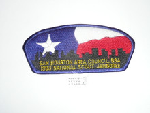 1993 National Jamboree JSP - Sam Houston Area Council, blue bdr