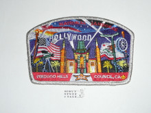 2005 National Jamboree JSP - Verdugo Hills Council, silver mylar bdr