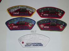 2010 National Jamboree JSP - Arbuckle Area Council, 5 piece set